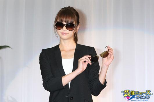 【メガネ ベストドレッサー賞】サングラスに似合う女優に香里奈!「デートの時は目と目で」