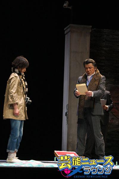 NEWS増田貴久、座長舞台で鬼気迫る演技!南沢奈央、「普段と違って目つきが怖い」