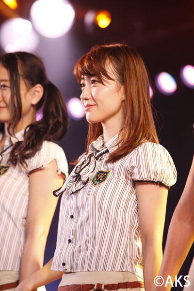 AKB48大島優子 卒業日発表の公演で感極まり涙!AKB48劇場は「心のマイホームです」