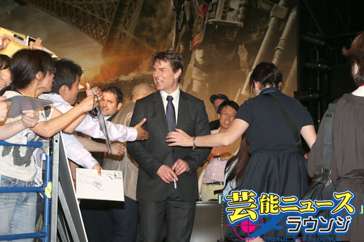 トム・クルーズ今年初のサプライズに感激!主演映画は原作者・桜坂洋さん納得の仕上がり