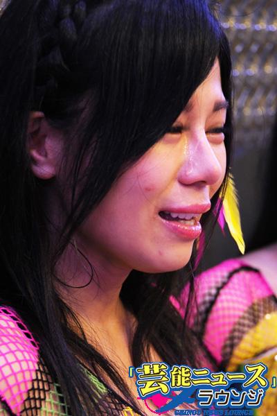 仮面女子 他界したメンバーに大粒の涙「車でいつも…」