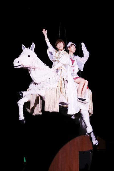 HKT48指原莉乃&宮脇咲良 博多座公演で再び11メートル上昇!前回より「演技うまくなった」