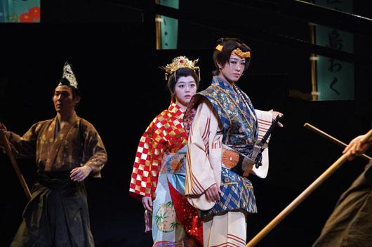 ミュージカル「ふたり阿国」開幕!北翔海莉、峯岸みなみらが熱演