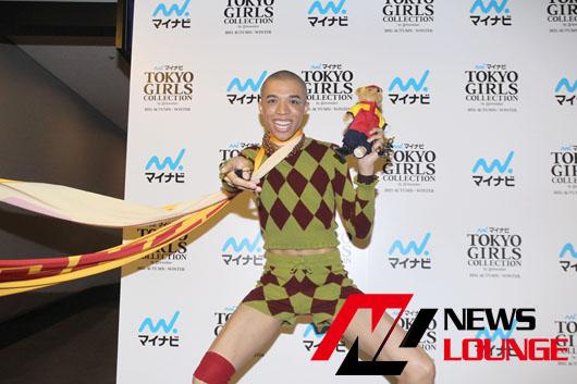 ロイ、念願のTGCランウェイに出演!5メートルのロングスカーフ姿で超ハイテンション暴走の末「夢はパリコレ」